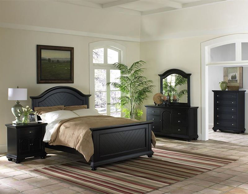 Brook Black Bedroom Set
