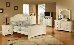 Brook White Bedroom Set