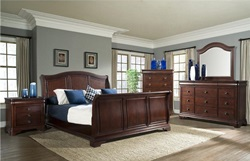Cameron Bedroom Set with Sleigh Bed
