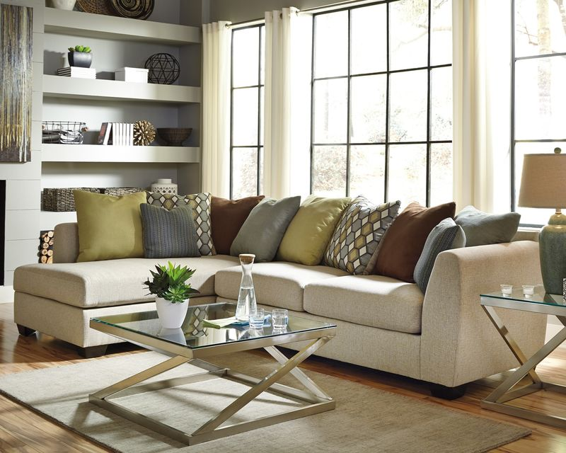 Casheral Sectional Sofa Set with LAF Chaise