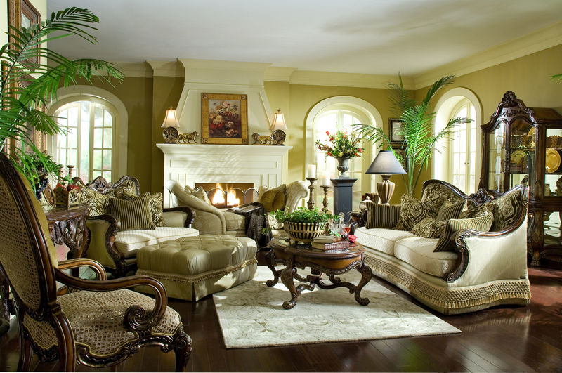Chateau Beauvais Formal Living Room Set