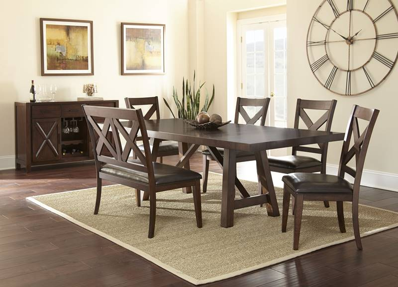 & Dallas Designer Furniture | Clapton Dining Table Set