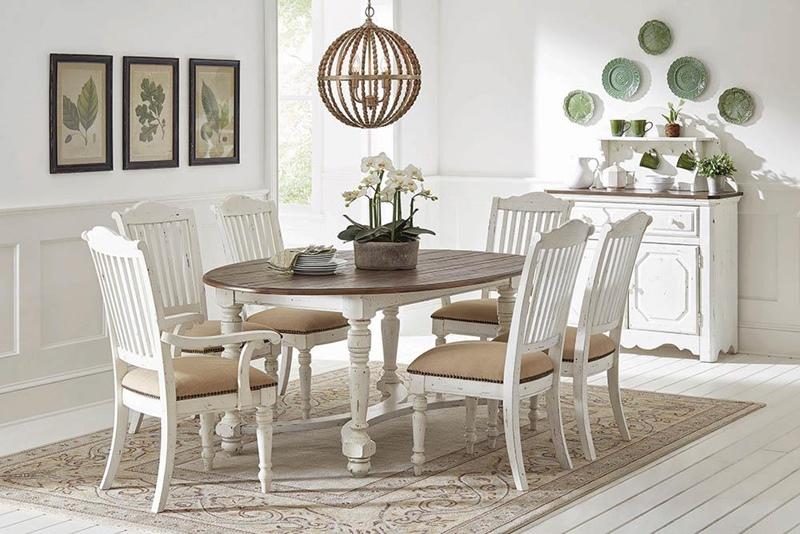 Celeste Oval Dining Room Set