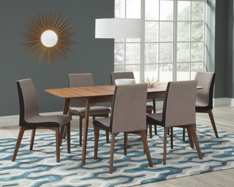 Redbridge Dining Room Set with Parson Chairs