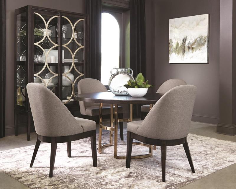 Benton Formal Round Dining Room Set