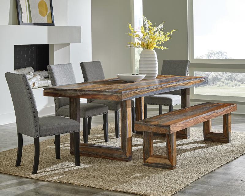 Paloma Dining Room Set in Grey