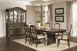 Ilana Formal Dining Room Set in Java
