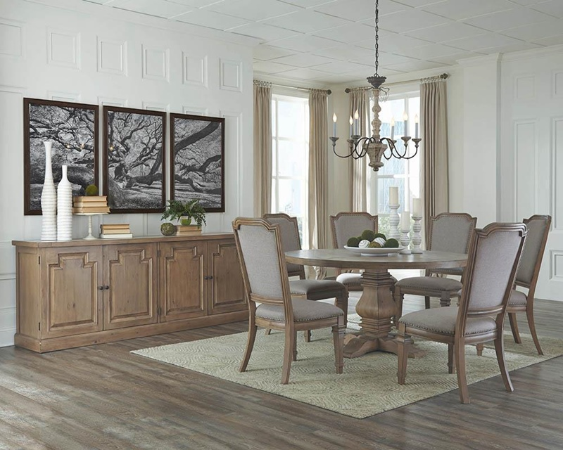 Florence Formal Round Dining Room Set