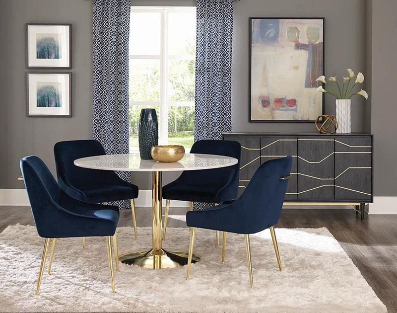 Kella Formal Round Dining Room Set