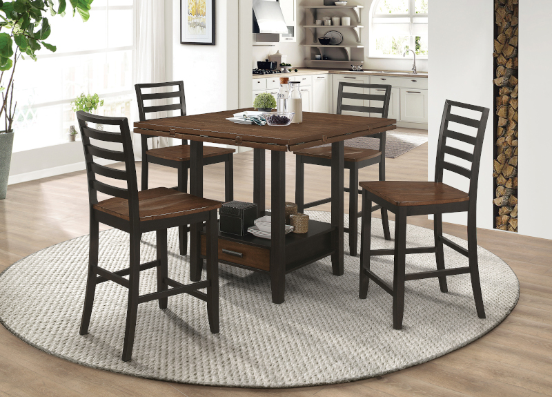 Sanford Counter Height Dining Room Set