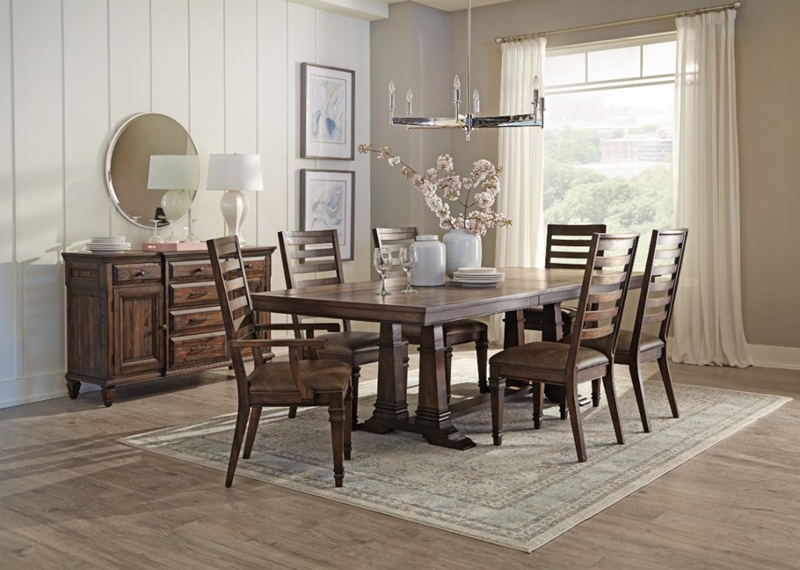 Delphine Rustic Dining Room Set