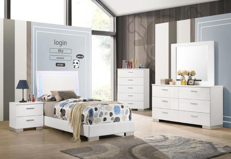 Felicity Youth Bedroom Set
