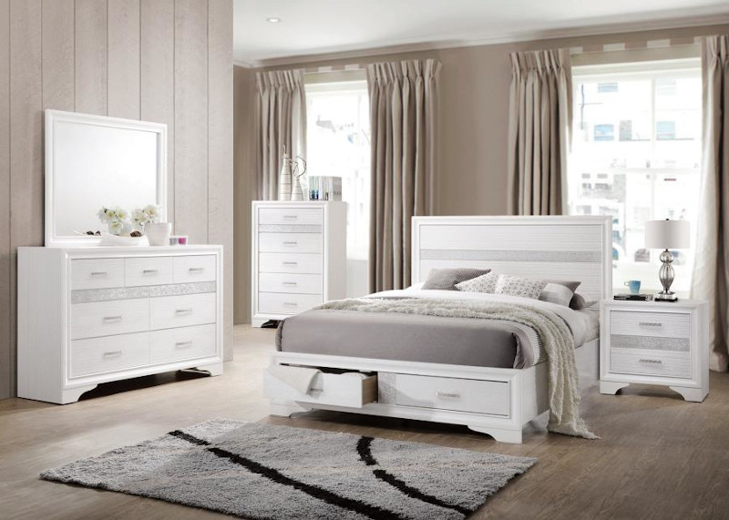 Miranda Bedroom Set in White