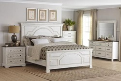 Celeste Bedroom Set in White