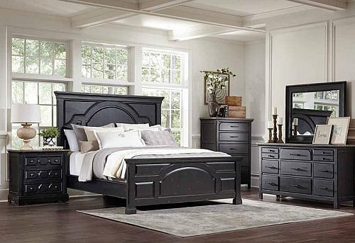 Celeste Bedroom Set in Black