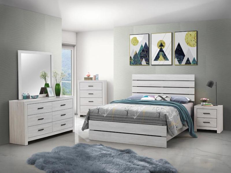 Brantford Bedroom Set in White