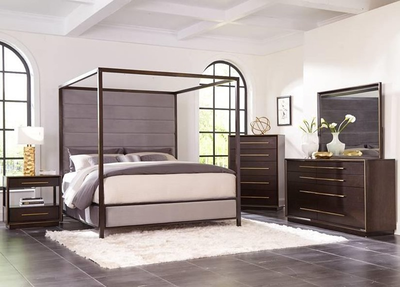 Luddington Bedroom Set with Canopy