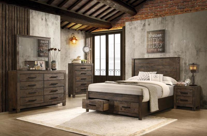 Woodmont Bedroom Set with Storage Bed