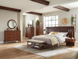 San Mateo Bedroom Set with Floating Night Stands