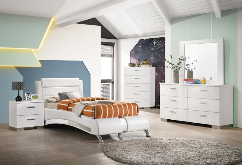 Felicity Youth Bedroom Set with Platform Bed