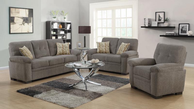 Fairbairn Living Room Set in Oatmeal