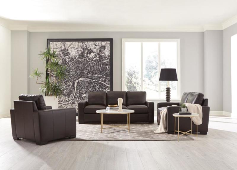 Boardmead Leather Living Room Set
