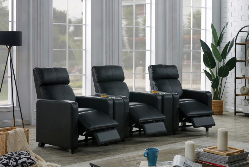 Toohey Home Theater Set with Consoles