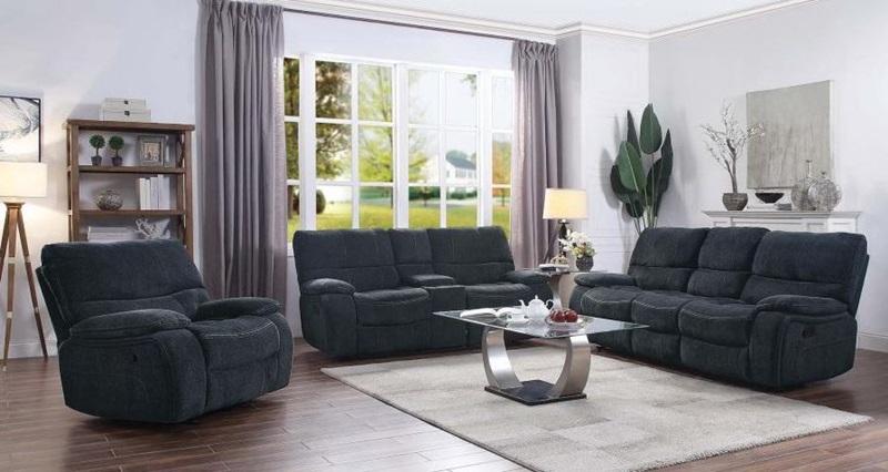 Coaster  601937 Perry Reclining Living Room Set   Dallas Designer Furniture