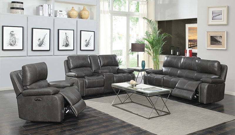 Ravenna Power Motion Headrests Living Room Set