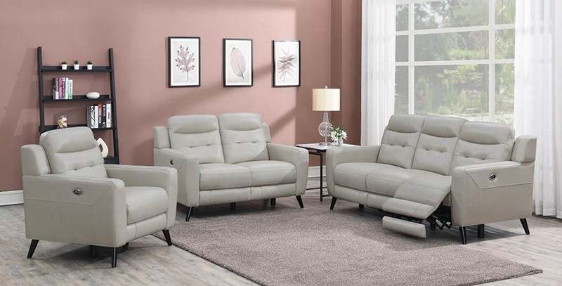 Lantana Living Room Set in Beige