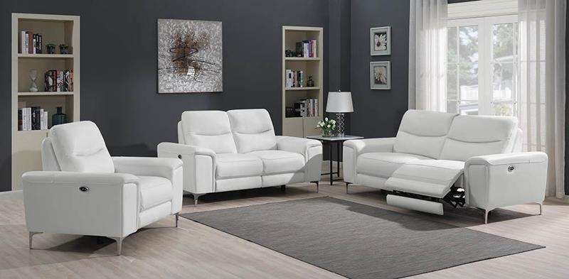 Largo Living Room Set in White