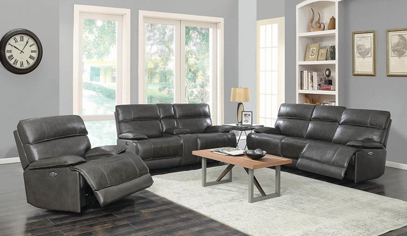 Stanford Power Motion Living Room Set with Bluetooth