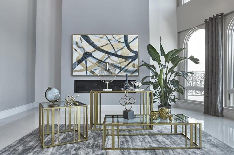 Eastbrook Living Room Set in Velvet Grey