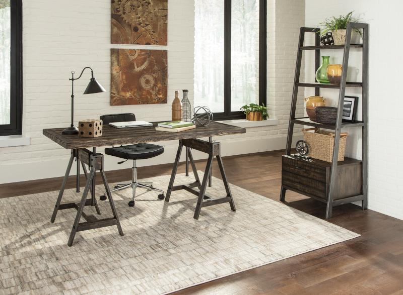 Delmar Adjustable Desk Set