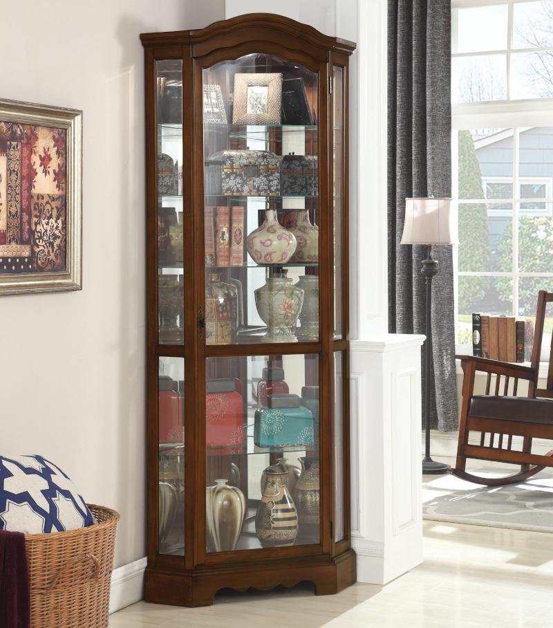 Richardson Corner Curio Cabinet