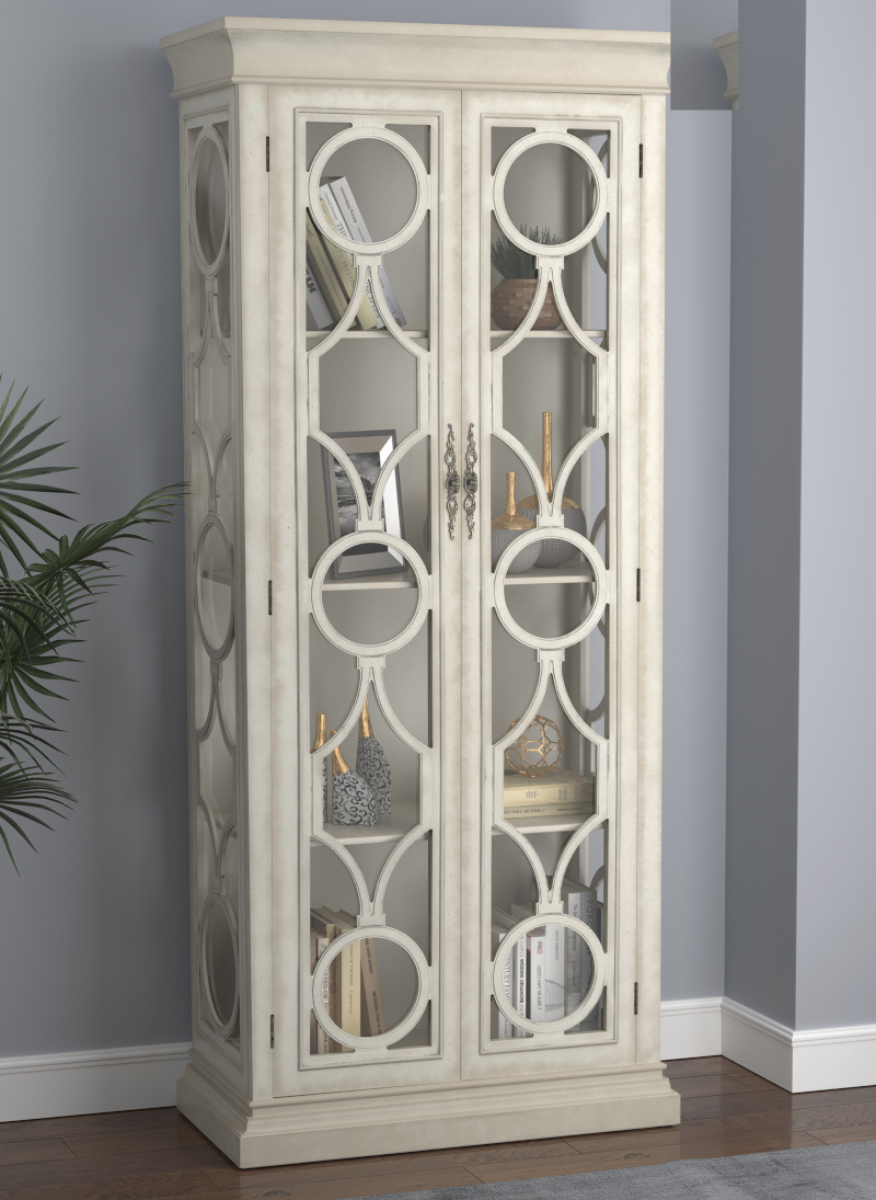 Paloma Tall Cabinet in White