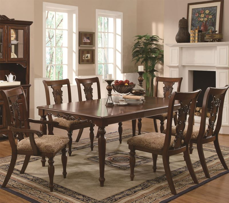 dallas designer furniture calabasas rustic dining table set with