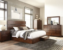 Artesia Bedroom Set with Storage Bed