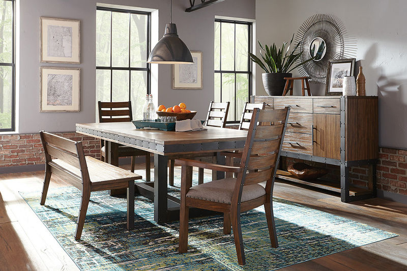 Atwater Dining Room Set with Bench