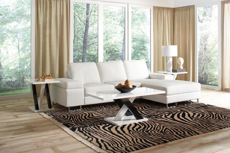 Avila Leather Sectional