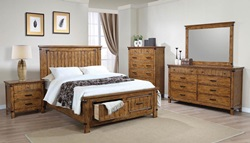 Brenner Bedroom Set with Storage Bed