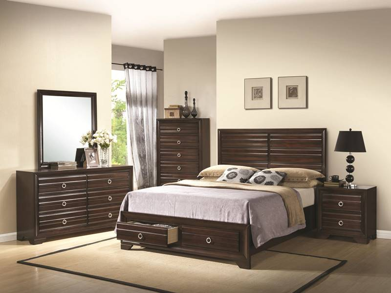 Bryce Bedroom Set with Storage Bed