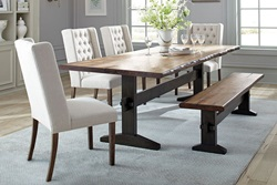 Burnham Dining Room Set with Bench
