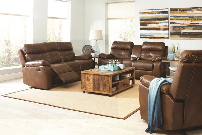Damiano Reclining Living Room Set