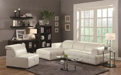 Darby Leather Sectional
