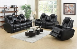 Delange High-Tech Reclining Living Room Set