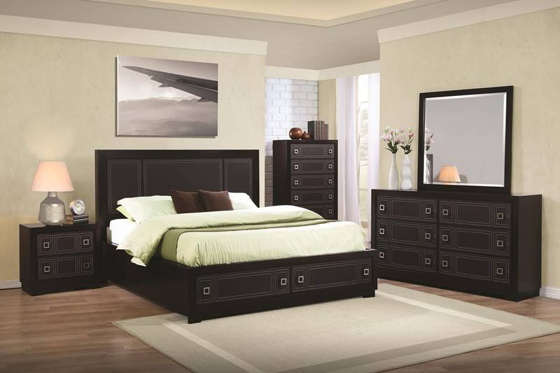 Elijah Bedroom Set with Platform Storage Bed