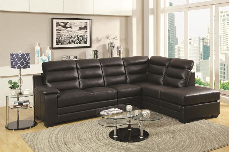 Emma Leather Sectional