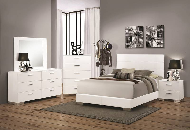 Impressive White Queen Bedroom Set Property