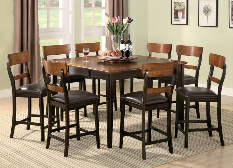 Franklin Two Tone Counter Height Table Set
